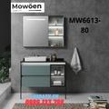 Bộ tủ chậu cao cấp đèn Led Mowoen MW6613-80