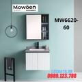 Bộ tủ chậu cao cấp đèn Led Mowoen MW6620-60