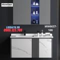 Bộ tủ chậu cao cấp đèn Led Mowoen MW6637-100