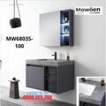 Bộ tủ chậu cao cấp đèn Led Mowoen MW6803S-100