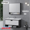 Bộ tủ chậu cao cấp Mowoen W6952-80