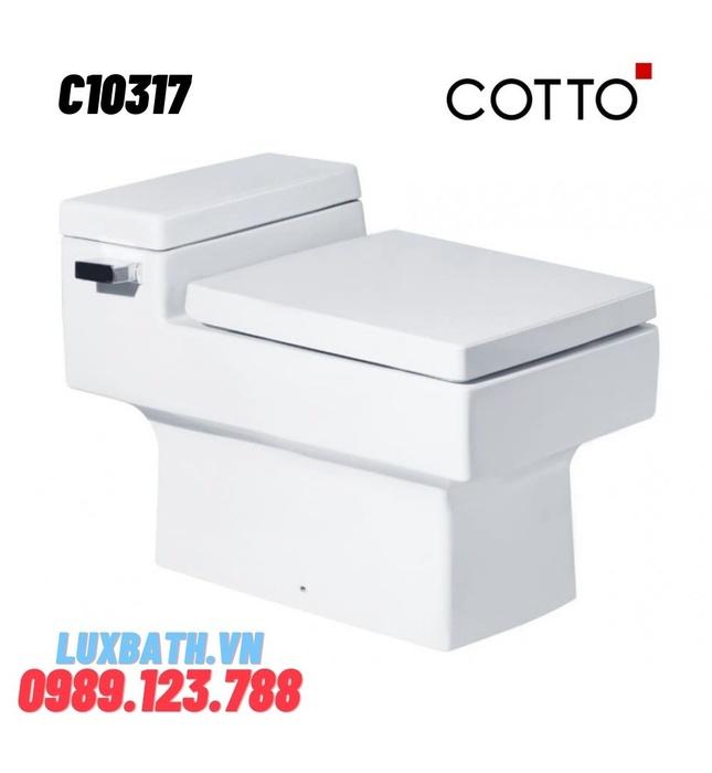 Bàn Cầu 1 Khối COTTO C10317