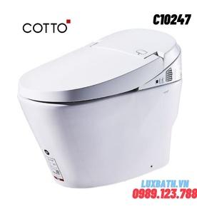 Bàn Cầu 1 Khối điện tử COTTO C10247