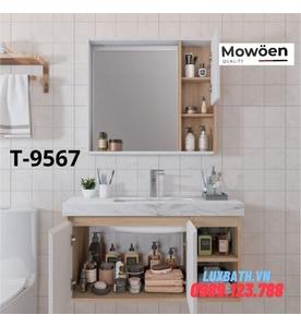 Bộ tủ chậu cao cấp Mowoen T-9567