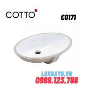 Chậu rửa mặt COTTO C0171 âm bàn
