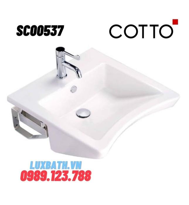 Chậu rửa mặt COTTO SC00537