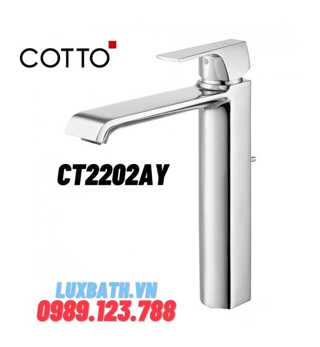 Vòi rửa mặt lavabo nóng lạnh COTTO CT2202AY