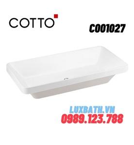 Chậu rửa mặt COTTO C001027 đặt bàn