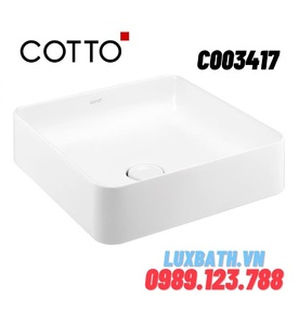 Chậu rửa mặt COTTO C003417 đặt bàn
