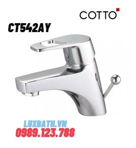 Vòi rửa mặt lavabo nóng lạnh COTTO CT561E