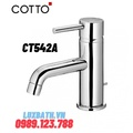 Vòi rửa mặt lavabo nóng lạnh COTTO CT542A