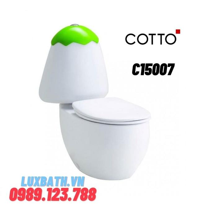 Bàn cầu 2 khối trẻ em COTTO C15007
