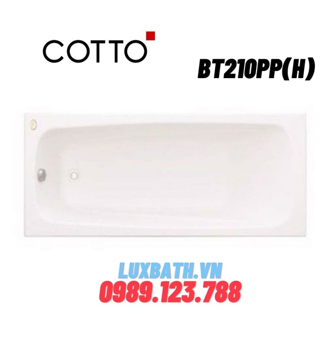 Bồn tắm COTTO BT210PP(H)