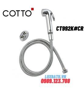 Vòi xịt vệ sinh COTTO CT992K#CR
