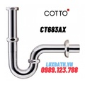 Xi phông thoát lavabo chậu rửa mặt COTTO CT683AX