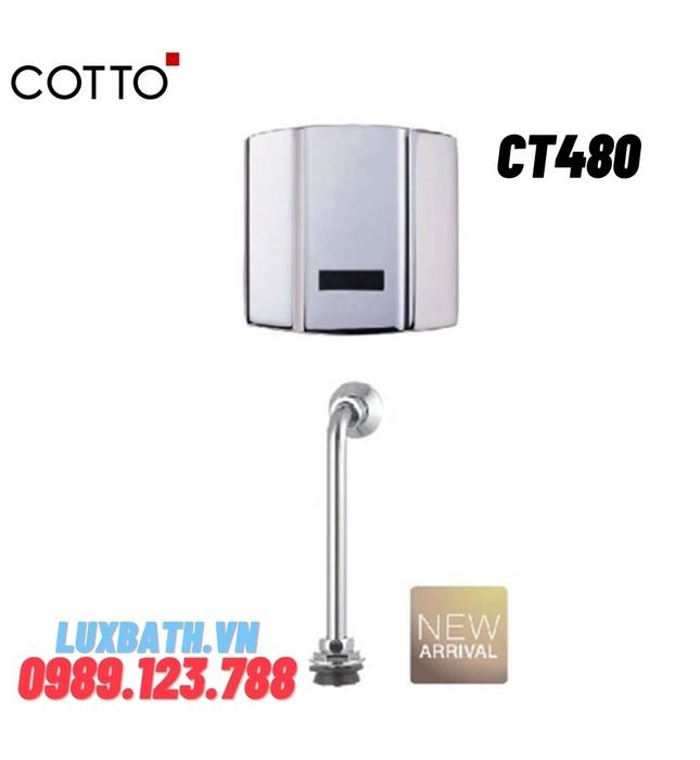 Van xả tiểu nam cảm ứng COTTO CT480