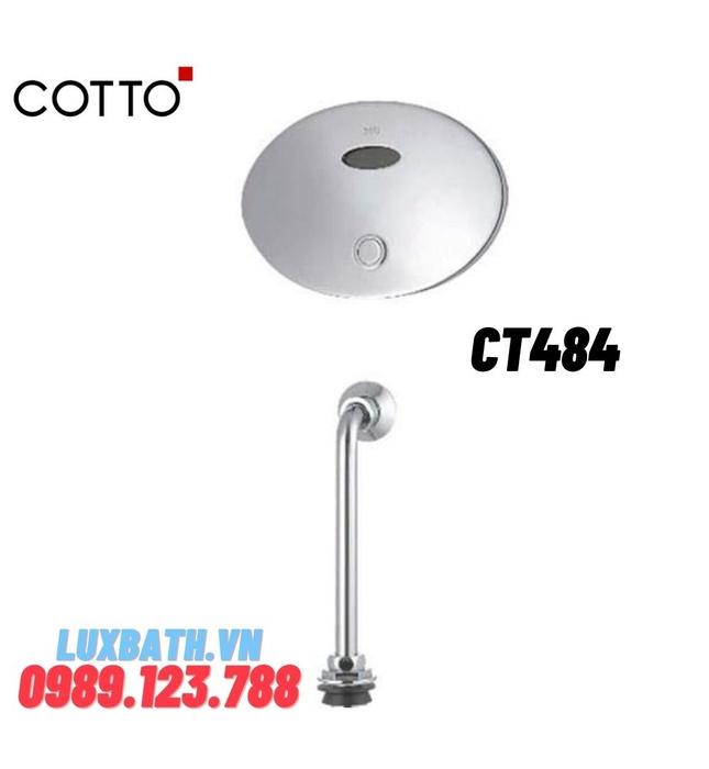 Van xả tiểu nam cảm ứng COTTO CT484