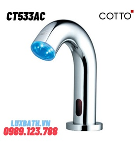 Vòi rửa mặt lavabo nóng lạnh cảm ứng COTTO CT533AC