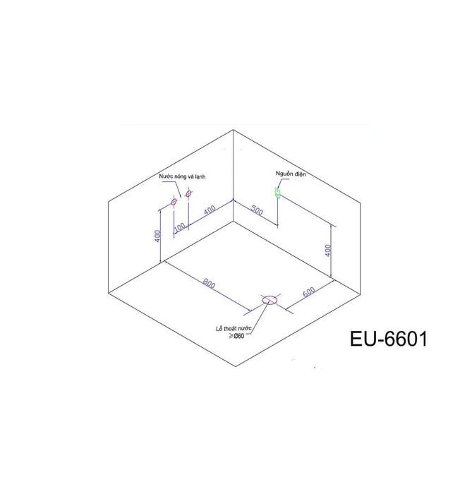 Bồn tắm MASSAGE Euroking EU–6601