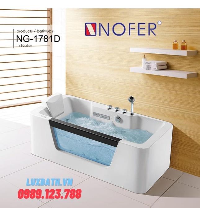 Bồn tắm MASSAGE NOFER NG–1781D