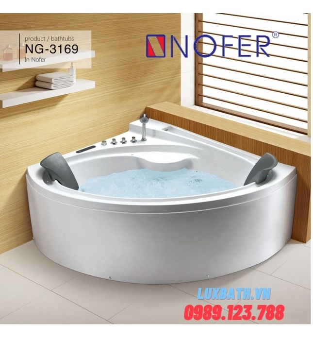 Bồn tắm MASSAGE NOFER NG–3169D