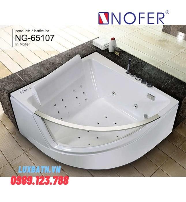 Bồn tắm MASSAGE NOFER NG–65107