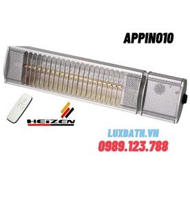 Đèn sưởi không chói mắt có điều khiển Heizen APPINO10