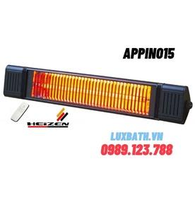 Đèn sưởi không chói mắt có điều khiển Heizen APPINO15