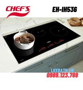 Bếp điện từ 3 vùng nấu Chefs EH-IH536