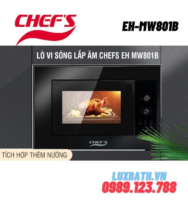Lò Vi Sóng Chefs EH-MW801B