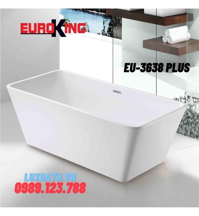 Bồn tắm chữ nhật Euroking EU-3638 PLUS