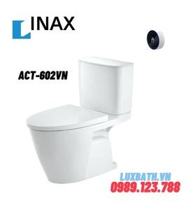Bàn cầu 2 khối xả tự động Inax ACT-602VN