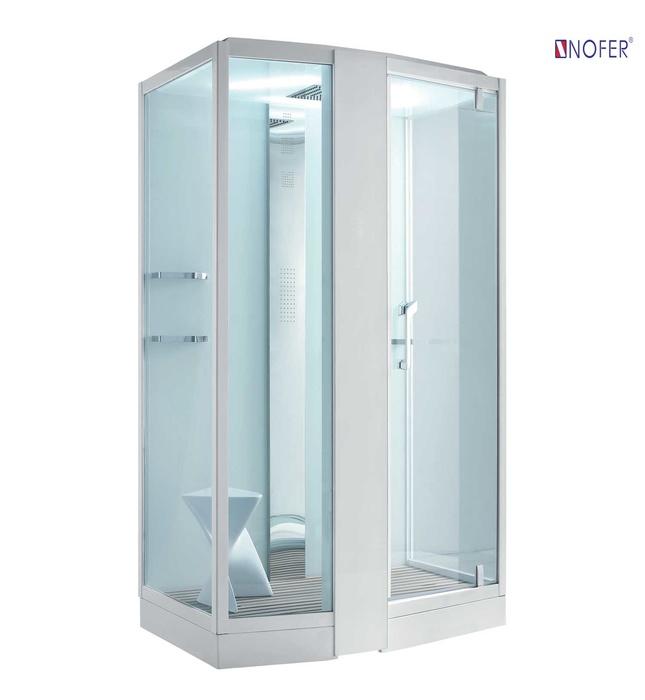 Phòng xông hơi Nofer NO-89102S White