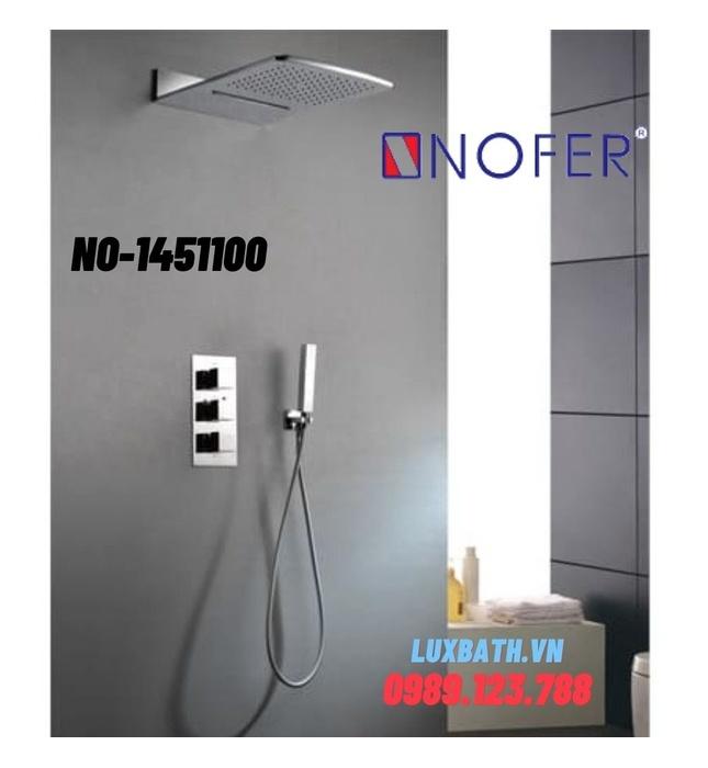 Sen tắm âm tường Nofer NO-1451100