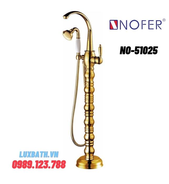 Sen tắm gắn bồn Nofer NO-51025
