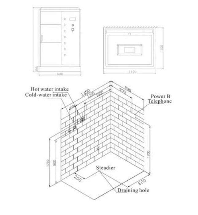 Phòng xông hơi Nofer NO-1411