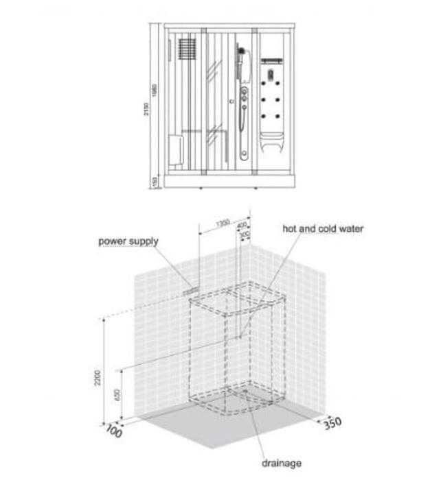 Phòng xông hơi Nofer NO-601R
