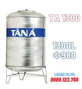 Bồn nước Tân Á 1300L đứng inox TA 1300 D