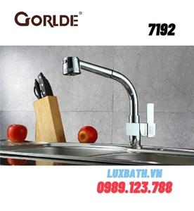 Vòi rửa bát nóng lạnh GORLDE 7192(gắn chậu)