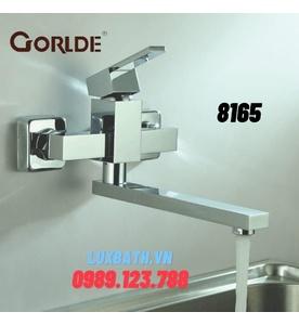 Vòi rửa bát nóng lạnh GORLDE 8165(gắn tường)
