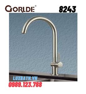 Vòi rửa bát nóng lạnh GORLDE 8243(gắn chậu)