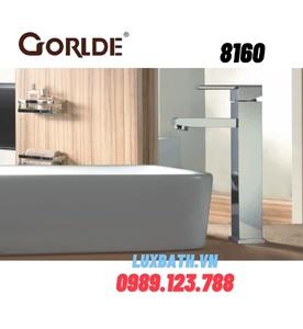 Vòi rửa mặt lavabo nóng lạnh Gorlde 8160