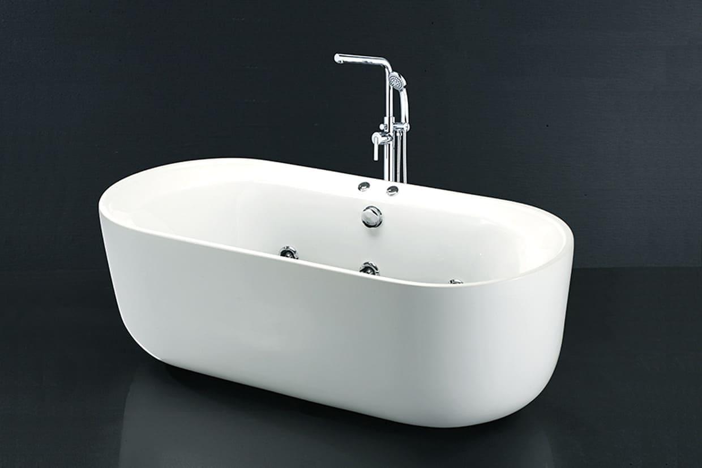 Bồn tắm nằm có chân yếm CaesarAT0770