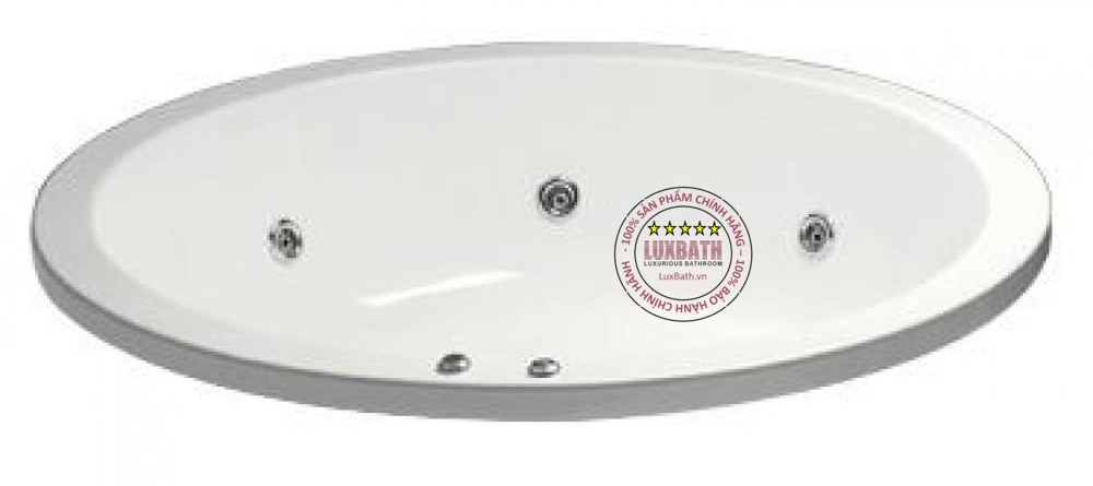 Bồn tắm massage tròn không chân yếmMT6470Caesar